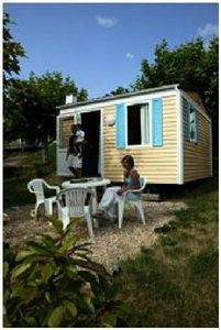 Photo for Camping La Bastide **** - Mobil Home Astria 2 Rooms 2 People