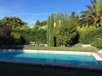 Photo for Provencal farmhouse with pool, pool house and bowling