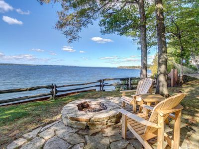 Photo for Enjoy stunning views & typical home comforts at this beautiful lakefront retreat