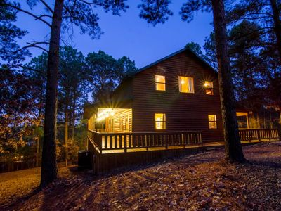 Photo for Oasis Lodge  (3 Bdrm) (High Lux)(HOT TUB)