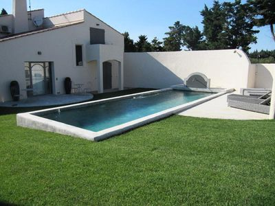 Photo for 6 room villa 10 people swimming pool - 6 rooms 10 people