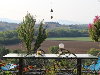 Photo for Home for your holidays in the green Umbrian hills
