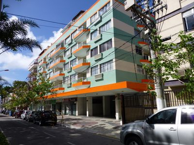 Photo for Apt. cozy apartment 200m from Praia do Forte, with garage