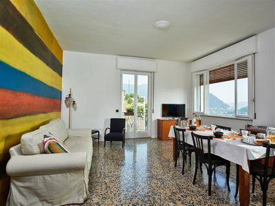 Photo for 7 beds NEW large apartment in a villa on the hills of Cernobbio