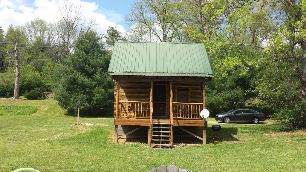 Glory Days Riverfront 1800s Log Cabin Near Gem Mines