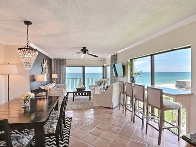 Photo for DIRECT OCEAN FRONT PENTHOUSE CONDO!  Read the Reviews! Two Bedrm/Two Bath.