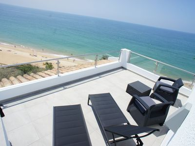Photo for Superb Sea Views, 3 Bedroom Modern Townhouse Overlooking Vale do Lobo Beach