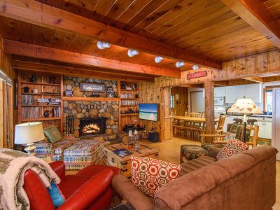Photo for True Tahoe – Classic 4BR Cabin on Quiet & Private Half-Acre, Walk to  Town
