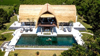Photo for Bali Villa Shanti, a hidden Paradise Beachfront House Near  Lovina