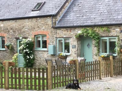 Photo for Converted barn, area of outstanding beauty, dog friendly, 5 min drive to beach.