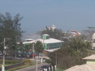Photo for Two bedroom waterfront apartment with balcony near the beach