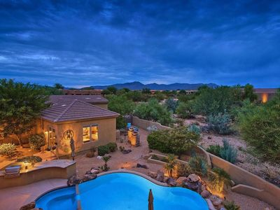Photo for Oasis In The Desert Near Prestigious Boulders with Heated Pool, all on One Floor