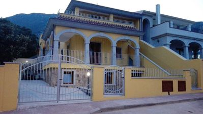 Photo for villa surrounded by greenery 700 meters from the sea