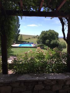 Photo for Beautifully restored, private and tastefully furnished farmhouse with a pool