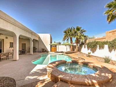 Photo for 4BR Lake Havasu City House w/Private Heated Pool!