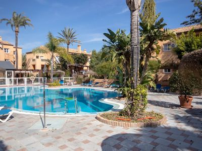 Photo for Splendid 2 bedroom apartment with private garden and many facilities