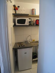 Photo for Charming Parisian studio, overlooking the street, ideally located, Batignolles