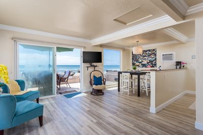 Walk Right Out and Enjoy Your Private Oceanfront Patio