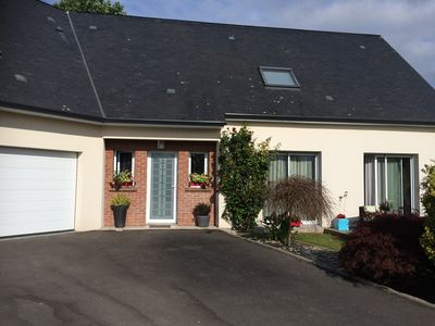 Photo for 4BR House Vacation Rental in Martin-Église, Normandie