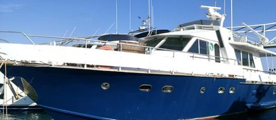 Photo for Beautiful private yacht in quiet port in Barcelona