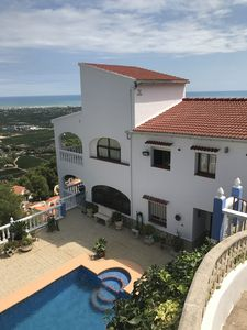 Photo for Fantastic panoramic views over the mediterranean coast of Oliva