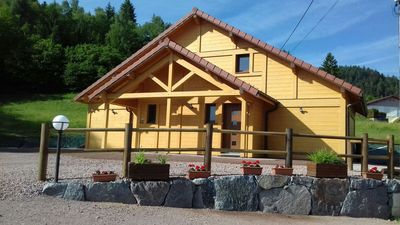 Photo for 2 cottages 4 stars in a wooden chalet