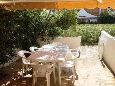 Photo for Large terrace studio 2 minutes walk from the beach