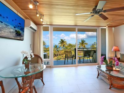Photo for Amazing Ocean View, Top Floor, Complete Remodel, AC, South Maui,  Kihei, #603
