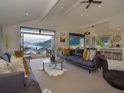 Photo for Queenstown Family Holiday House - Lake Views