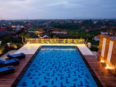 Photo for Comfy Rooms in Canggu, Rooftop with 360 Degree of Canggu View