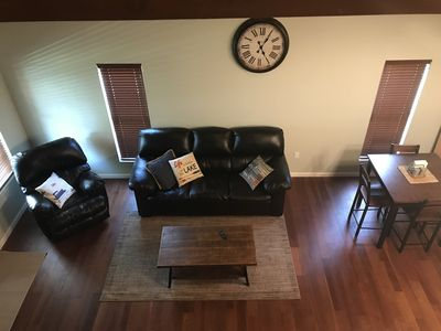 Photo for *NEWLY RENOVATED!* Overlooking the river, less than 5 minutes from Cave Run