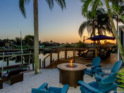 Photo for SW Cape Coral | Gulf Access | Private little beach | Gourmet kitchen