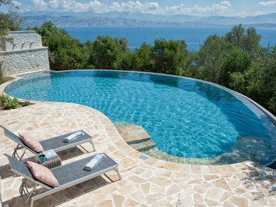 Photo for Kassiopi Villa, Sleeps 6 with Pool