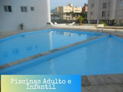 Photo for Apt with full leisure in Guarujá