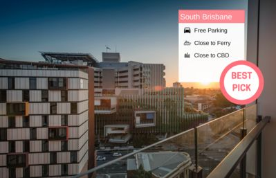 Photo for South BNE 1 Bed Parking Pool Gym in Mater QSB218
