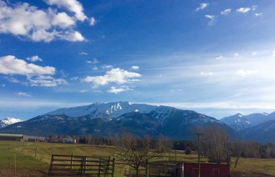 The view from the yard ~ Mt. Joseph and Hurricane Creek Canyon