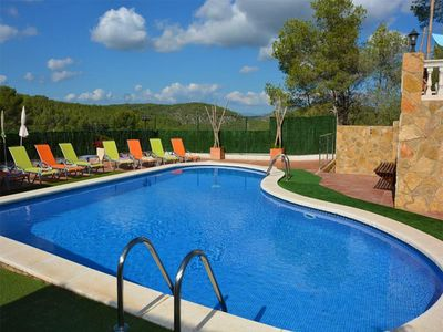 Photo for Villas Sitges Amores. 10 minutes from Sitges! Pool XL.  Pub. Chill-out