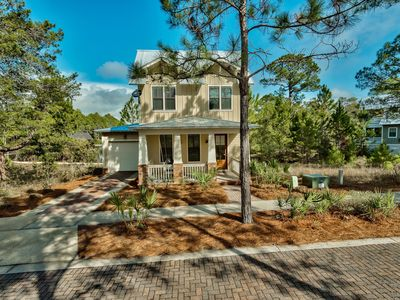 Photo for Custom Luxury Home INCLUDING 6 Passenger Golf Cart! Lakefront/Walk/Bike to beach