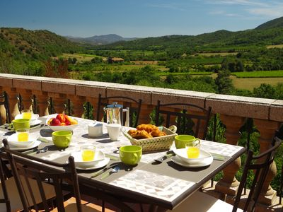 Photo for Converted Barn In Pyrenean Foothills with Private Pool and Spectacular Views