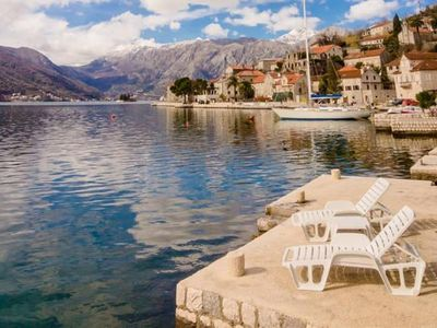 Photo for Holiday apartment Perast for 1 - 6 persons with 2 bedrooms - Holiday apartment
