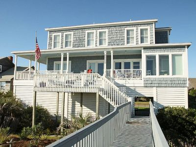 Photo for Edgar's Encore: 5 BR / 4.5 BA home in Oak Island, Sleeps 12