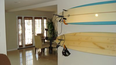 Want to go surfing. There are a couple boards you are welcome to use