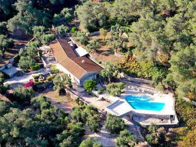 Photo for Unique Villa surrounded by the wood with POOL