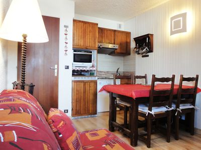 Photo for Apartment at the foot of the slopes in the center of Meribel-Mottaret