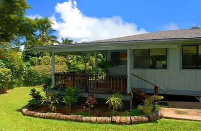 Blue Anini Cottage Exterior View