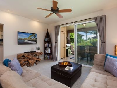 Photo for Halii Kai 24H.  Includes Hilton Waikoloa Pool Pass for 2019.  3 Bedroom with Golf Course Views, Swim