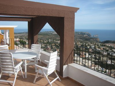 Photo for Beautiful Duplex with spectacular views of the Meditarreneo. AUGUST PROMOTION