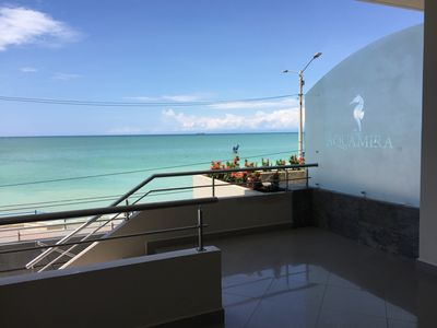 Photo for New Oceanfront Condo With 180 Degree Unobstructed View