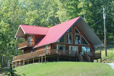 Nestled in the hills of Eastern KY is this premium vacation cabin rental.