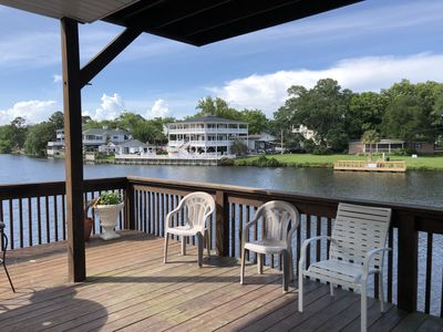 Photo for Location, Location, Location!!!! Lake front Beach house with Ocean Views!!!